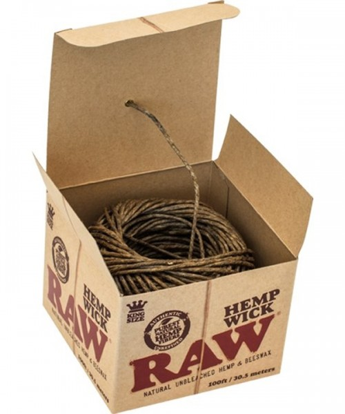 RAW Hemp Wick Ball 30,5M